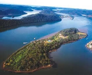 hawkesbury from the air